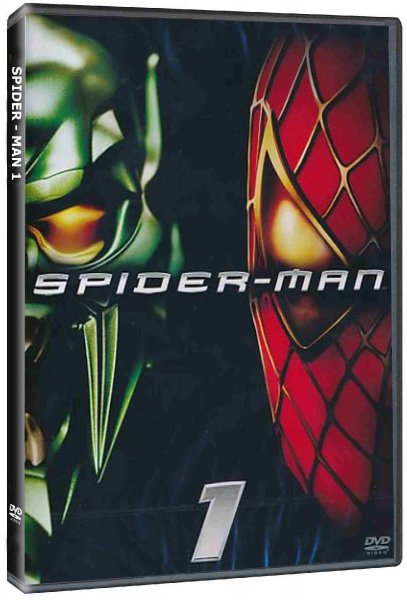 detail Spider-Man - DVD