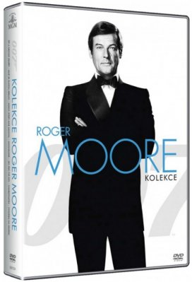 James Bond: Roger Moore - Kolekce - 7 DVD - outlet