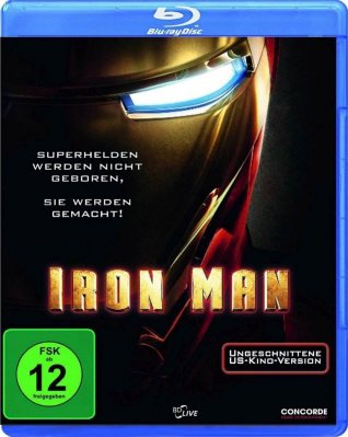 Iron Man - Blu-ray (bez CZ)