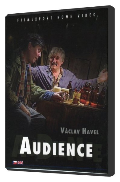 detail Audience (Václav Havel) - DVD Digipack