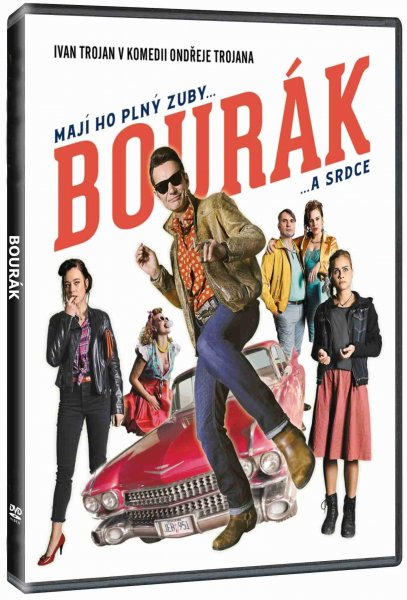 detail Bourák - DVD