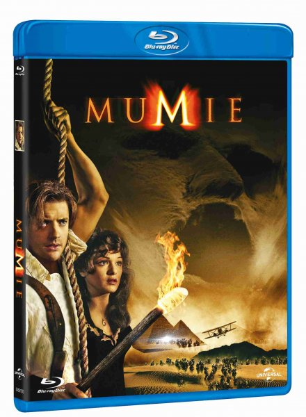detail Mumie - Blu-ray