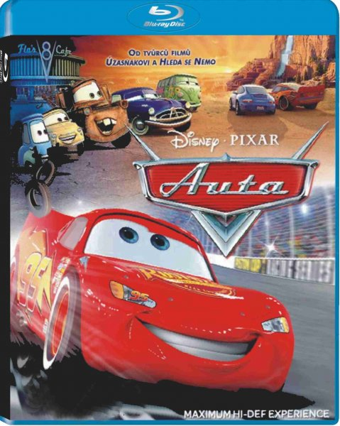 detail Auta (Cars) - Blu-ray