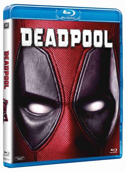 detail Deadpool - Blu-ray