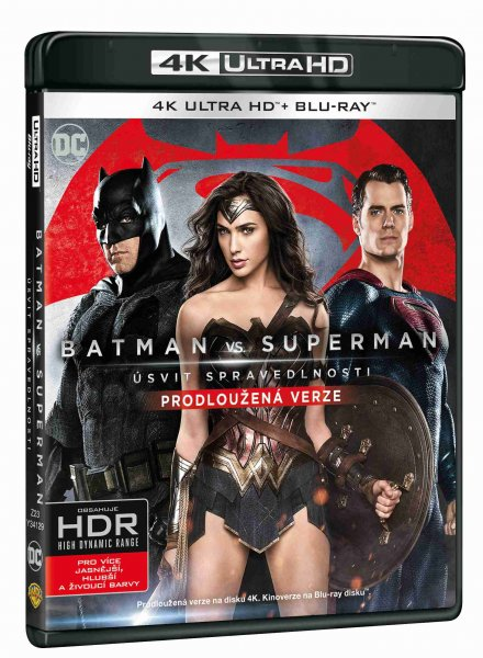 detail Batman Vs. Superman: Úsvit spravedlnosti (4K) - UHD Blu-ray + Blu-ray (2 BD)