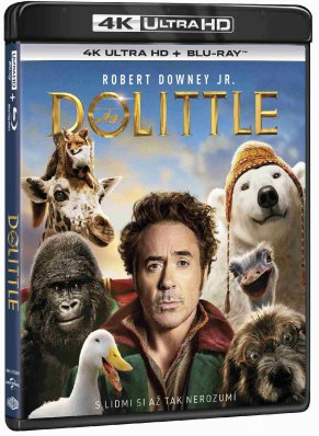 Dolittle (4K Ultra HD) - UHD Blu-ray + Blu-ray (2 BD)