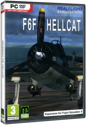 Grumman F6F Hellcat (Expansion for Flight Simulator X) - PC