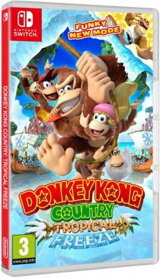 Donkey Kong Country Freeze - Switch