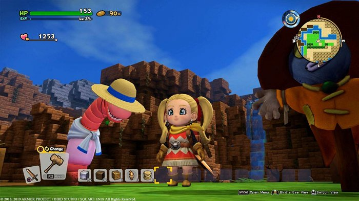 detail Dragon Quest Builders 2 - Switch