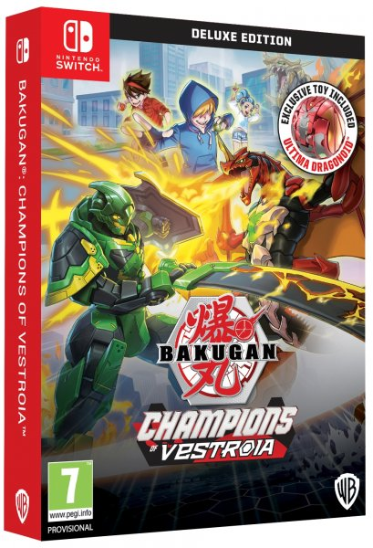 detail Bakugan: Champions of Vestroia Deluxe Toy Edition - Switch