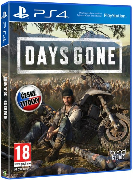 detail Days Gone CZ - PS4