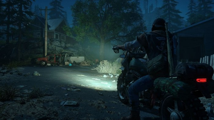 detail DAYS GONE - PS4