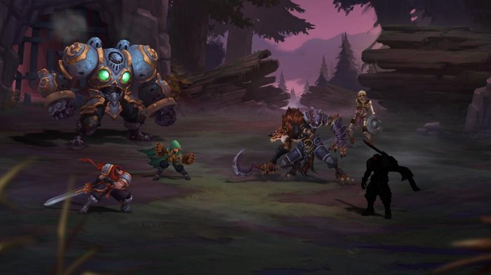 detail Battle Chasers: Nightwar - PS4