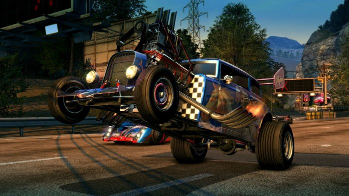 detail Burnout Paradise Remastered - PS4
