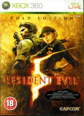 Resident Evil 5 Gold Edition - X360